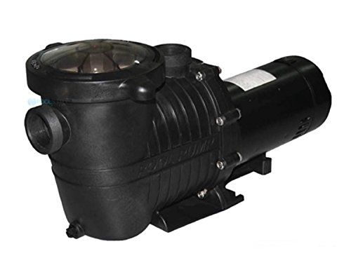 By PoolCentral 1 HP High Performance Self-Priming Full-Flow Hydraulic Swimming Pool and Spa Pump by By PoolCentral