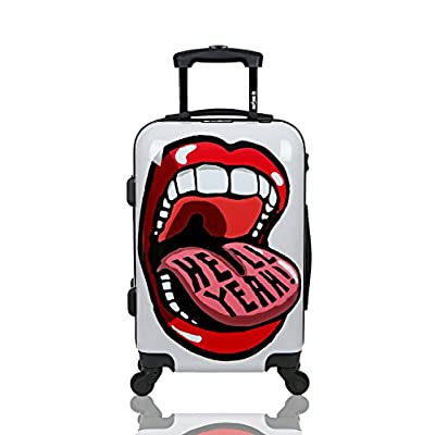 Funny Cute Christmas Lightweight LargeTravel Storage Luggage Trolley Bag Travel Duffel Bags Carry-On Tote