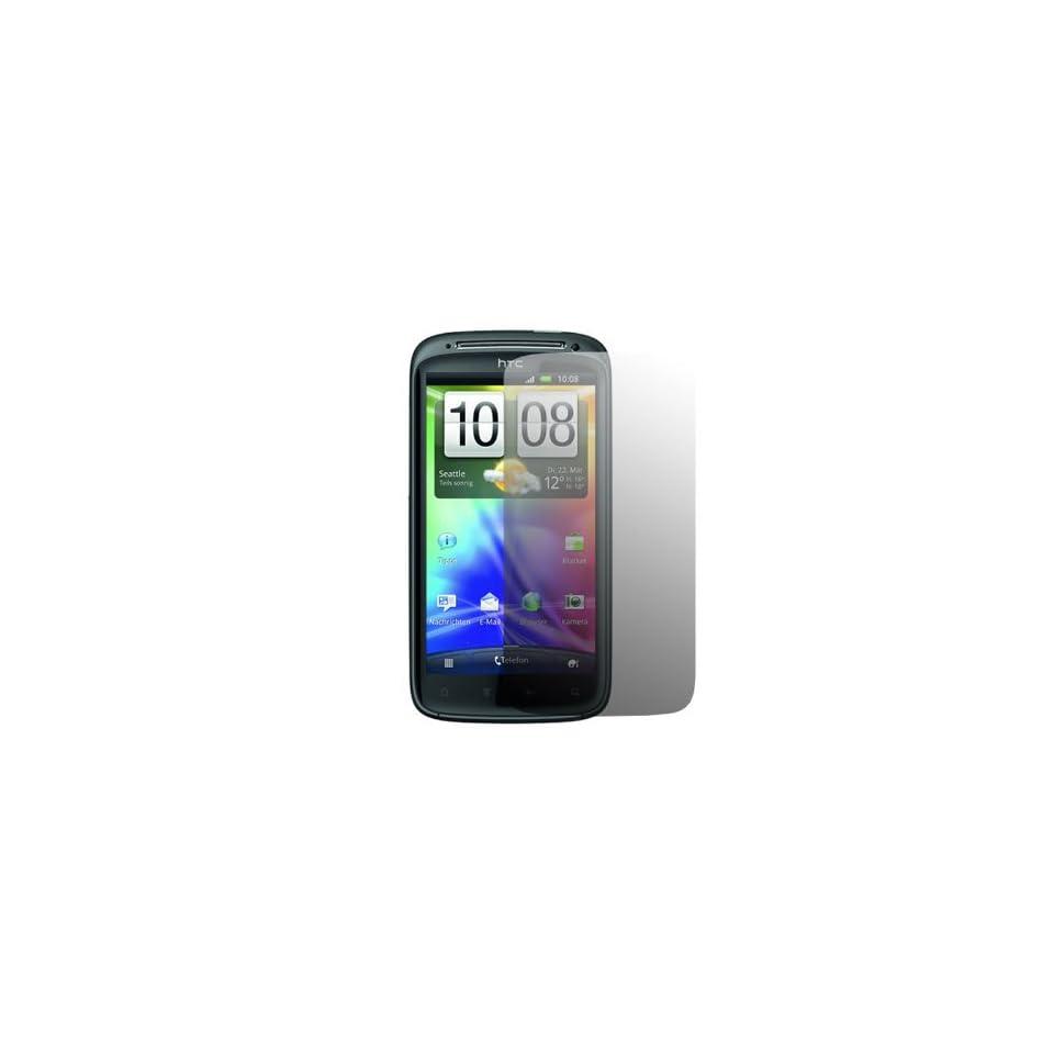 iTALKonline S Protect Anti Glare LCD Screen Protector & Micro Fibre Cleaning Cloth   HTC Sensation