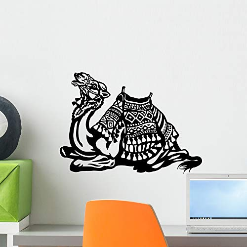 - Wallmonkeys Lying Camel with Saddle Wall Decal Peel and Stick Animal Graphics (18 in W x 13 in H) WM110820