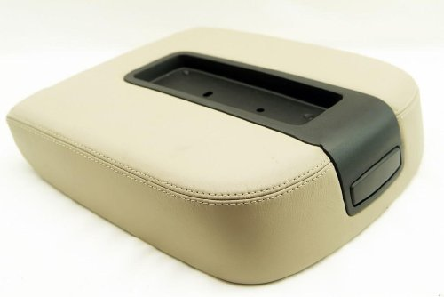 Fits 07-13 Chevy Tahoe, Suburban, Escalade, Vinyl Console Armrest Cover-tan (Vinyl Part Only)