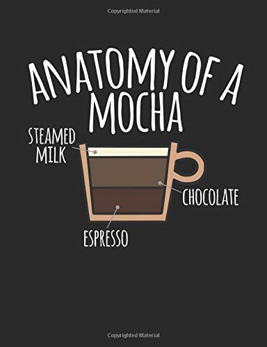 Anatomy Of A Mocha: A Cool Composition Notebook For Coffee Lovers: Books,  Timmer: 9781723920080: Books - Amazon.ca