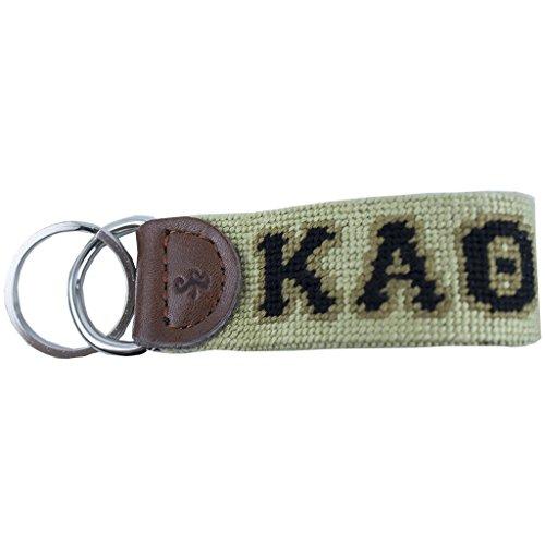 (Kappa Alpha Theta Needlepoint Key Fob by Smathers & Branson)