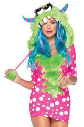 (Melody Monster Adult Costume,)