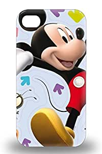 High Quality Durable Protection 3D PC Case For Iphone 4/4s Disney Mickey Mouse Mickey Mouse And Donald Duck Comedy ( Custom Picture iPhone 6, iPhone 6 PLUS, iPhone 5, iPhone 5S, iPhone 5C, iPhone 4, iPhone 4S,Galaxy S6,Galaxy S5,Galaxy S4,Galaxy S3,Note 3,iPad Mini-Mini 2,iPad Air )