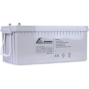Amazon.com: 12v 200ah Solar Power Battery - Deep Cycle: Home ...