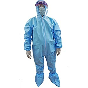 Adrian Disposable Coverall with Hood (with 90...