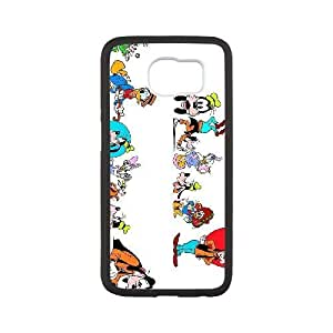 The Walt Disney Company 4 plastic funda Samsung Galaxy S6 cell phone case funda black cell phone case funda cover ALILIZHIA11142