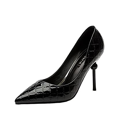 Ryse Women's Fashionable Classic Features Delicate Temperament High Heels Pointy Shoes
