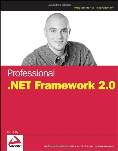 Professional .NET Framework 2.0 (Programmer to Programmer) Pdf