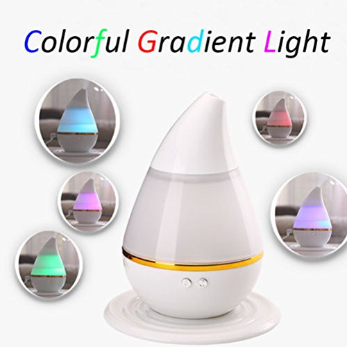 AOWA Hot Sale 200ml 7 Color Ultrasonic Home Aroma Humidifier Air Diffuser Purifier Lonizer Atomizer