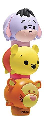 Disney Lip Balm - Lip Smacker Disney Tsum Tsum Lip Balm Trio, Winnie The Pooh/Tigger/Eeyore, 3 Count