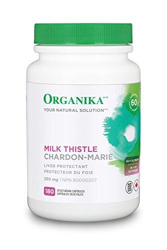 - Organika Milk Thistle 250mg 180 Capsules