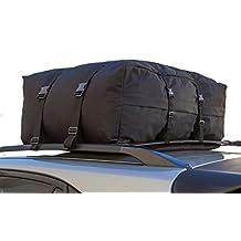 OxGord 34 inX34 X16 IN Roof Top Cargo Rack Waterproof Carrier Bag for Vehicles