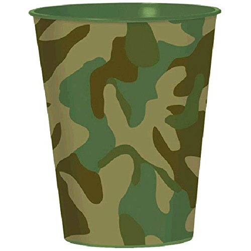 Camouflage Plastic Party Cup, Party Favor
