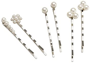 Amazon Com Darice Jewelry Designer Decorated Bobby Pins 6 Pack