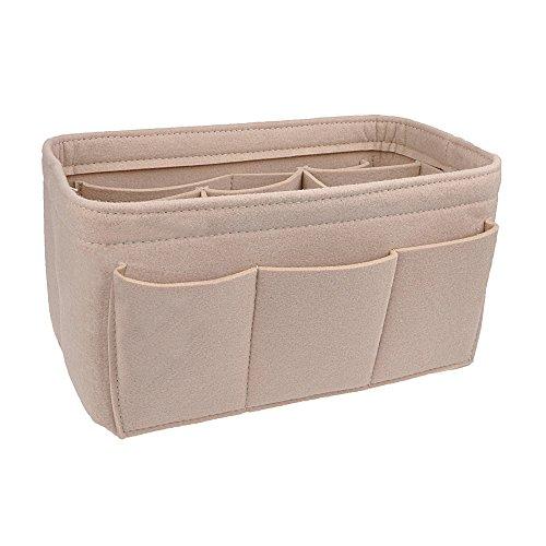 APSOONSELL Felt Handbag Liner for Women, Bag Organiser Insert Handbag Large...
