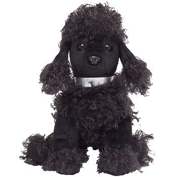 482f8b5cd6f Image Unavailable. Image not available for. Color  Ty Beanie Baby - Bijoux  the Black Poodle
