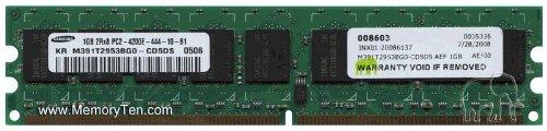 Ddr2 Ecc 4200 Registered Pc2 (1GB 240-pin PC2-4200 DDR2-533 ECC UDIMM (p/n AEF) by Gigaram)