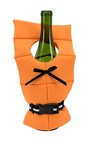 Boston Warehouse 52336 Life Preserver Wine Bottle Cover ()