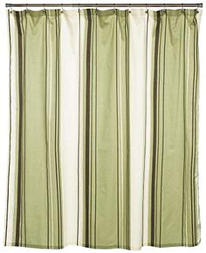 (Nautica West End Drapery Panels (2 Bath Window Panels) 32 Inches W x 45 Inches L)