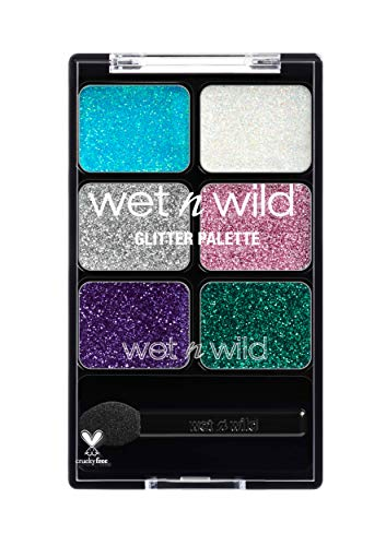 Walgreens Halloween Makeup (wet n wild Fantasy Makers Glitter Palette)