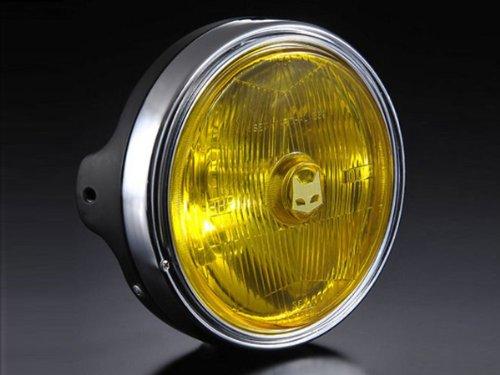 (マーシャル) ヘッドライト 889 ドライビングランプフルキット イエローレンズ ブラックケース KAWASAKI カワサキ 汎用 B008V2MMGE