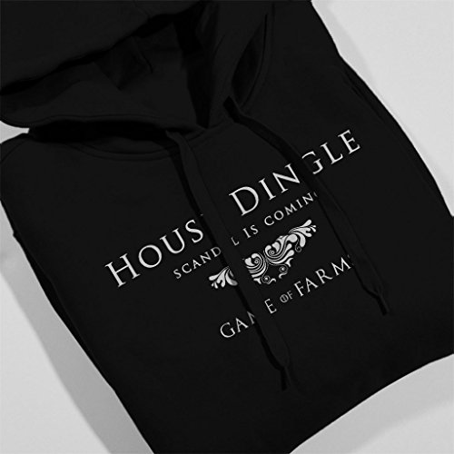 Emmerdale Game Of Thrones Mix House Dingle Game Of Farms Men's Hooded Sweatshirt