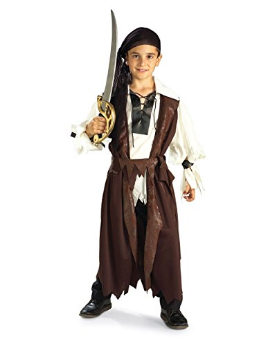 Rubie's Costume Co Boys Rubies Caribbean Pirate Costume