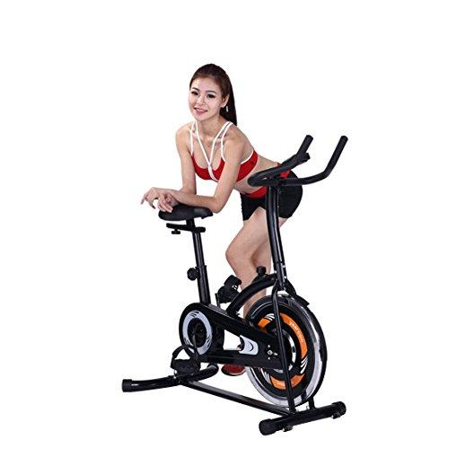 Rhegeneshop Exercise Training Bike Workout Bicycle Indoor Fitness Stationary Cardio Gym