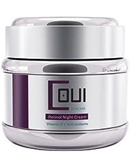 RETINOL Night Cream Face Moisturizer Anti Aging Anti Wrinkle Paraben Free - Facial Skin Repair Firming For All Skin Types