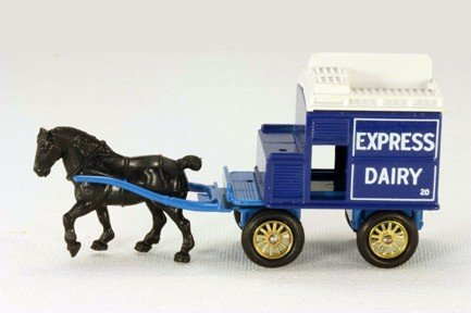 - Lledo Days Gone DG020 Horse Drawn Express Dairy Brighton Milk Wagon