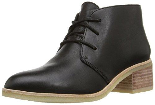 Clarks Phenia Carnaby Boot Cuero negro