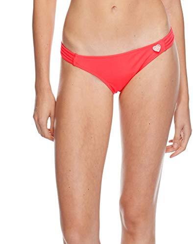 (Body Glove Women's Smoothies Flirty Surf Rider Solid Bikini Bottom Swimsuit, Diva, Small)