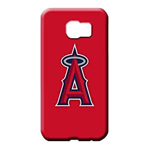 samsung galaxy s6 edge cases Perfect phone Hard Cases With Fashion Design phone carrying shells baseball los angeles angels 1