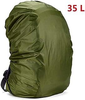 HATCHMATIC Mounchain 35 / 45L Sac à Dos étanche réglable antipoussière Rain Cover Ultraléger Portable épaule Protection Outils randonnée en Plein air: 35 litres A