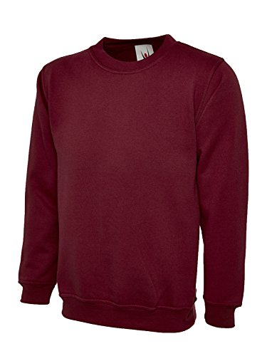 Uneek clothing -  Felpa con cappuccio  - Uomo Bordeaux 3XL