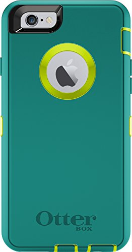 OtterBox DEFENDER iPhone 6/6s Case - Retail Packaging - TROPIC (CITRON GREEN/LIGHT...