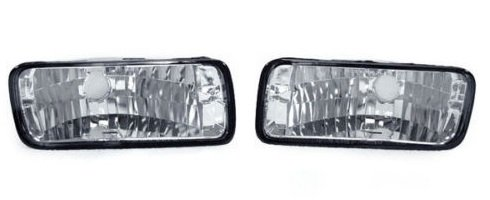 CPW (tm) 85-89 90-92 CHEVROLET CAMARO 3RD GEN CRYSTAL CLEAR BUMPER SIGNAL LIGHTS LAMPS NEW PAIR