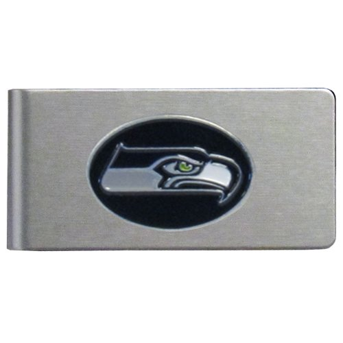 NFL Seattle Seahawks Brushed Money Clip from Siskiyou