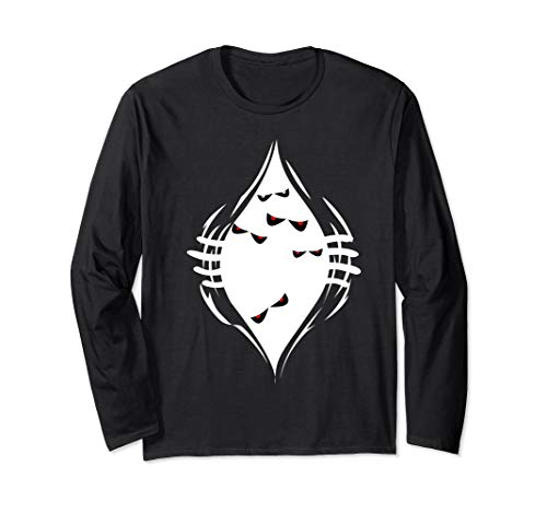 Halloween Monster Lab Ideas (Halloween costume for women and men. Monsters coming out Long Sleeve)