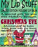 My Lip Stuff-CHRISTMAS EVE (Peanut Butter Cookies Flavor) LIMITED EDITION HOLIDAY LIP BALM