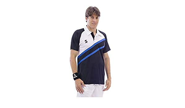 Softee - Polo Padel Start Color Marino/Blanco/Rojo Talla XXL ...