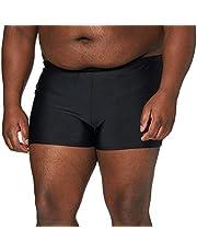 JP 1880 Heren grote maten Menswear L-8XL tot 7XL, zwembroek zwemslip, beachshorts, surfshorts kort, elastische band, koord nauwe vorm 706384, zwart, 3XL