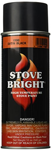 Forrest Paint 1990 Stove Bright Paint Satin Black