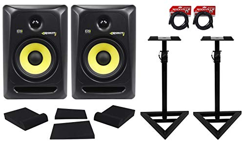 (2) KRK RP6-G3 Rokit Powered 6