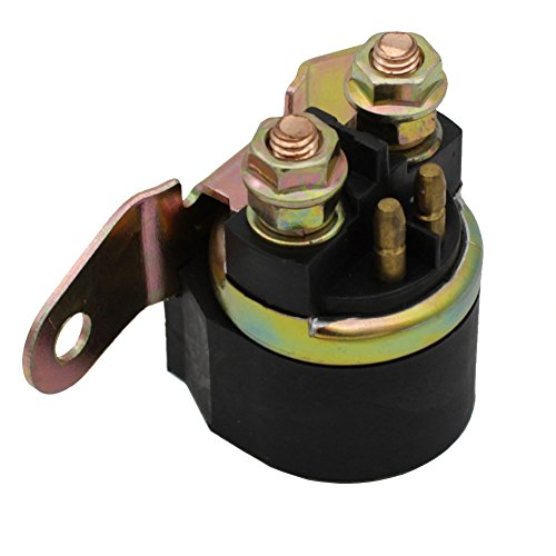 - Cyleto Starter Solenoid Relay for SUZUKI KING QUAD 300 LTF 300 LT-F300 1999 2000 2001 2002 ATV