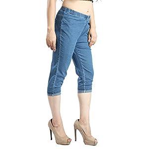 FCK-3 Women's Slim Fit Capri