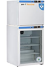 am-1 AM-VAC-C-RGP-FSP-07 Vaccine Premium 7 cu. ft. Vaccine Refrigerator and Freezer, White