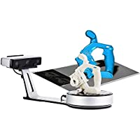 EinScan-SP White Light Desktop 3D Scanner, 0.05 mm Accuracy, 4s Scan Speed, 1200mm Cubic Max Scan Volume, Fixed/Auto…
